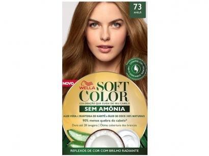 Tinta de Cabelo Soft Color 73 - Avelã