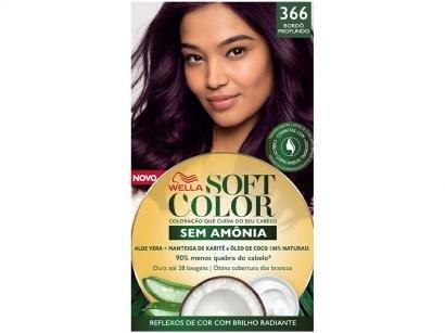 Tinta de Cabelo Soft Color 366 - Bordô Profundo
