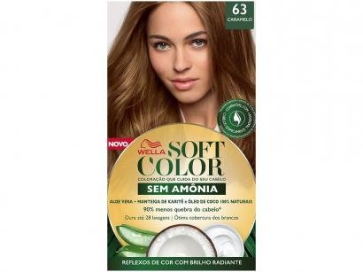 Tinta de Cabelo Soft Color 63 - Caramelo