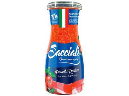 Passata de Tomate Rústica Sacciali 1334 - 520g