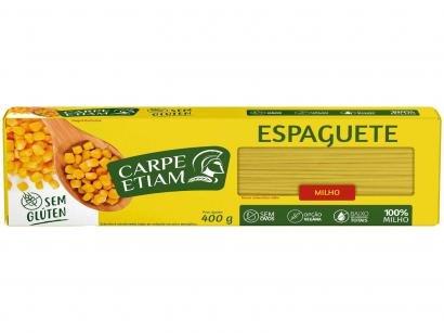 Macarrão Espaguete Vegano sem Glúten de Milho - Carpe Etiam 400g