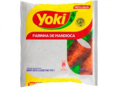 Farinha de Mandioca Crua Seca Yoki 500g