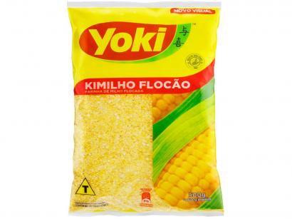 Farinha de Milho Flocada Seca Yoki Kimilho - 500g