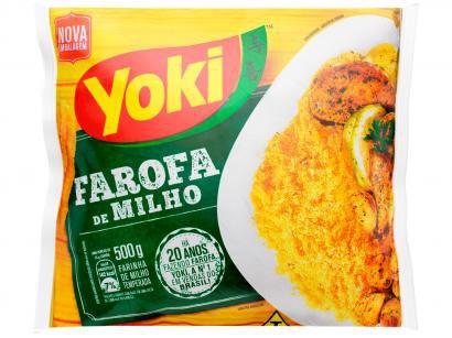 Farofa de Milho Temperada Yoki - 500g