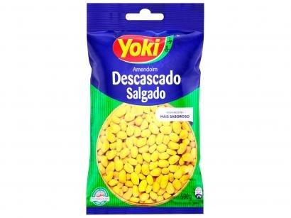Amendoim Salgado sem Pele Tradicional Yoki - Descascado 500g