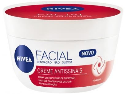 Creme Antissinais Facial Nivea 100g
