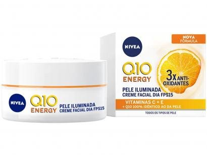 Creme Facial Antissinais Nivea Q10 Plus C Dia - FPS 15 50ml