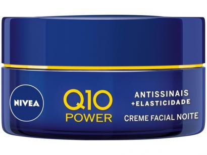 Creme Antissinais Facial Noturno Nivea Q10 Power - 50g