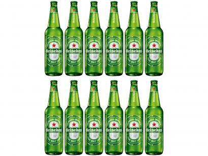 Cerveja Heineken Pilsen 600ml - 12 Unidades
