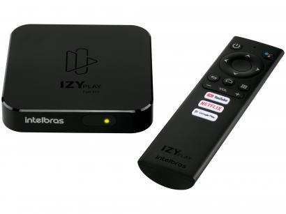 Smart Box TV Android Intelbras - IZY Play