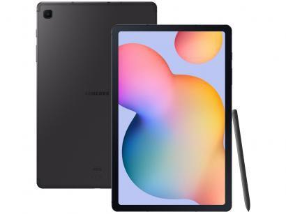 "Tablet Samsung Galaxy Tab S6 Lite 10,4"" 4G Wi-Fi - 64GB Android 10 Octa-Core com Caneta e Capa"