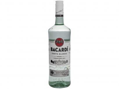 Rum Bacardi Carta Blanca Branco 980ml