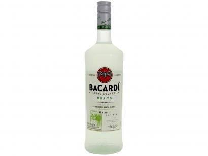 Rum Bacardi Mojito Limão com Notas de Hortelã - 980ml