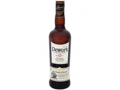 Whisky Dewars 12 Anos Escocês 750ml