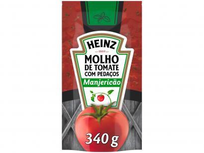 Molho de Tomate Manjericão Heinz 340g