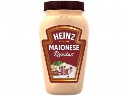 Maionese Tradicional Heinz Receitas - 405g