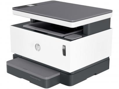 Impressora Multifuncional HP Neverstop 1200nw - Laser Monocromática Wi-Fi USB