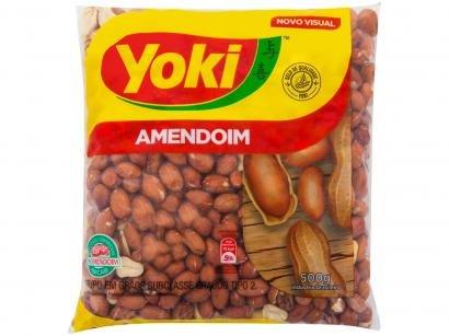 Amendoim Descascado Original Yoki - 500g