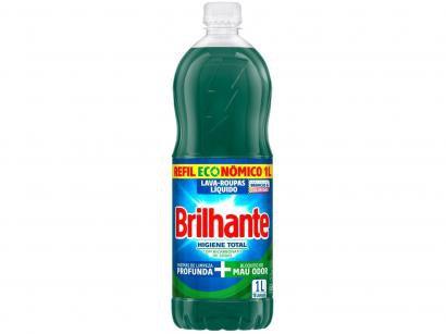 Sabão Líquido Brilhante Higiene Total Refil - 1L