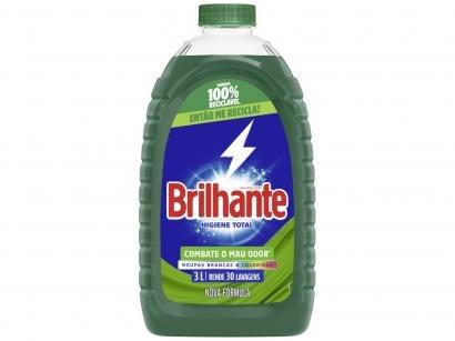 Lava Roupas Líquido Brilhante Higiene Total 3L