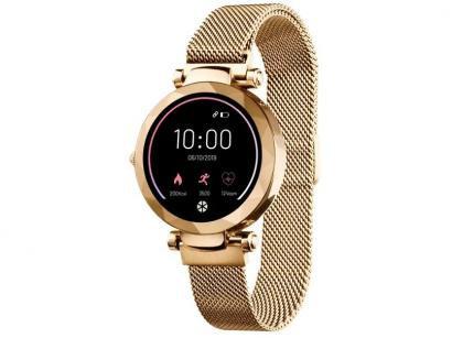 Smartwatch Atrio Dubai Dourada 3,5cm - 512Kb