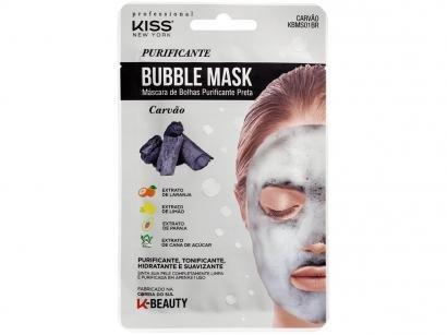 Máscara Facial Kiss New York Professional - Carvão Bubble Mask 20ml