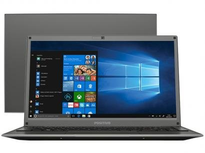 "Notebook Positivo Motion C4500D Intel Celeron Dual - Core 4GB 500GB 14"" Windows..."