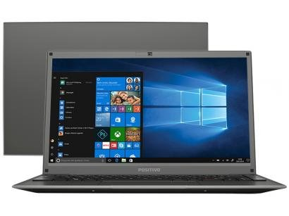 "Notebook Positivo Motion C4128D Intel Celeron - Dual Core 4GB 128GB SSD 14""..."