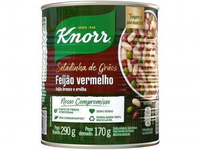 Feijão Branco em Conserva Knorr Grãos - Mix Feijão Vermelho 170g