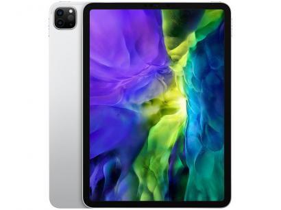 """iPad Pro 11"""" 2ª Geração Apple Wi-Fi 128GB - Prateado"""