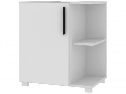 Balcão de Banheiro 1 Porta 1 Prateleira BRV Móveis - Multi BBN 21-06