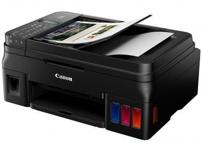 Impressora Multifuncional Canon Mega Tank G4110 - Tanque de Tinta Colorida...