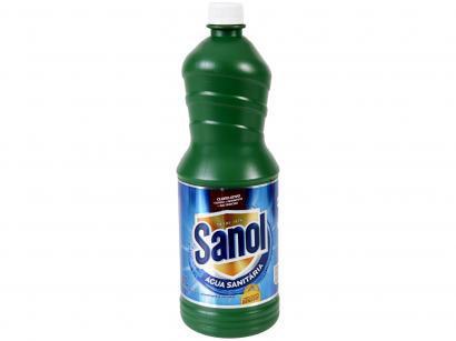 Água Sanitária Sanol Cloro Ativo - 1L