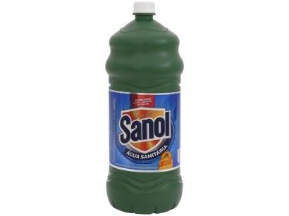 Água Sanitária Sanol Cloro Ativo - 2L