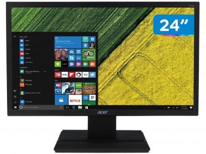 "Monitor para PC Acer V246HL 24"" LED Full HD - HDMI VGA TN"