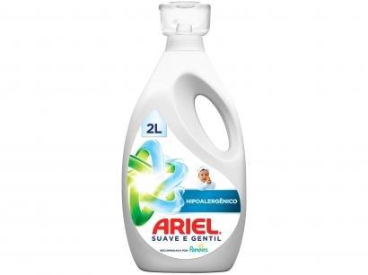 Sabão Líquido Ariel Hipoalergênico Suave e Gentil - Concentrado 2L