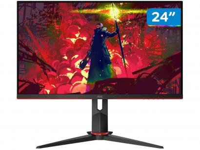 "Monitor Gamer AOC G2 Hero 24"" LED Widescreen - Full HD HDMI VGA IPS 144Hz..."