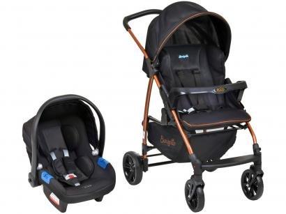 Carrinho de Bebê com Bebê Conforto Burigotto - Travel System Ecco 0 a 15kg