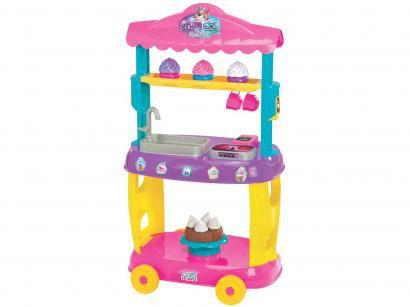Tendinha Confeitaria Food Truck Doces 8084 - Magic Toys 7 Peças
