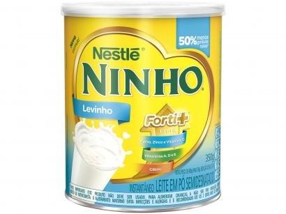 Leite em Pó Semidesnatado Ninho Forti+ Levinho - 350g