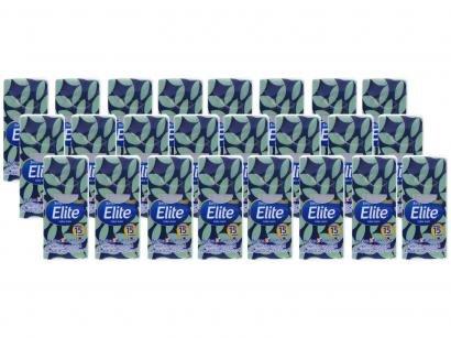 Lenço de Papel de Bolso Elite Softys Máxima - Suavidade 24 Pacotes com 15 Unidades Folha Dupla