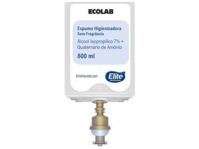 Álcool Isopropílico Elite Professional Neutro 70% - Espuma Higienizadora 800ml