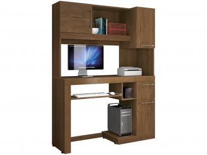 Mesa para Computador 1 Gaveta 3 Portas - EDN Móveis Matrix