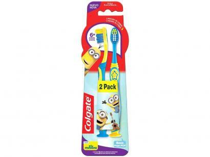Escova de Dente Infantil Colgate - Smiles Minions 2 Unidades