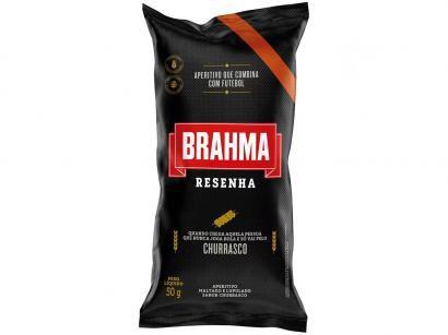 Salgadinho Resenha Churrasco 50g - Brahma
