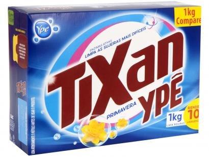 Sabão em Pó Ypê Tixan Primavera - 1kg