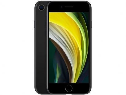 "iPhone SE Apple 256GB Preto 4,7"" 12MP iOS"