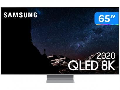 """Smart TV 8K QLED 65"""" Samsung 65Q800TA - Wi-Fi Bluetooth HDR 4 HDMI 2 USB"""