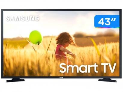 "Smart TV Full HD LED 43"" Samsung 43T5300A - Wi-Fi HDR 2 HDMI 1 USB"