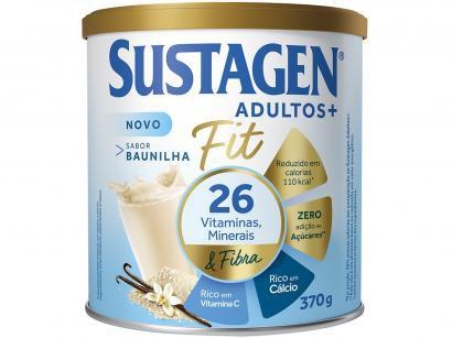 Complemento Alimentar Sustagen Baunilha Adultos+ - Fit 370g
